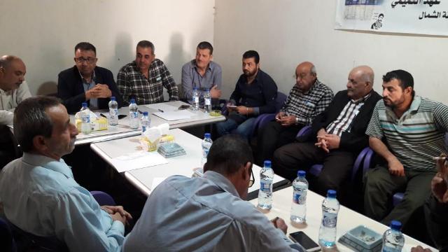 لقاء مع لجنة المتابعة العليا لملف إعمار مخيم نهر البارد  برئاسة الأستاذ مروان عبد العال