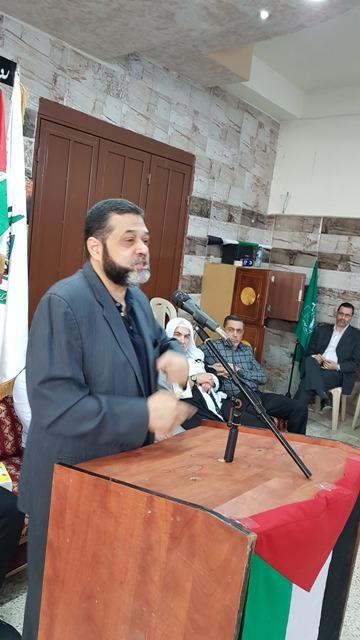 الشعبية في الشمال تشارك في اللقاء الشعبي للقيادي في حركة حماس أسامة حمدان