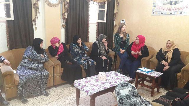 لجان المرأة الشعبية في منطقة صيدا تقيم ندوة صحيّة في حي المنشية