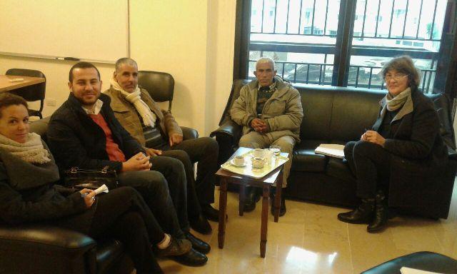اللجان الشعبية تلتقي الصليب الأحمر الدولي في طرابلس