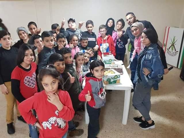 يوم مفتوح لأطفال وشبيبة الجبهة في مخيم برج البراجنة