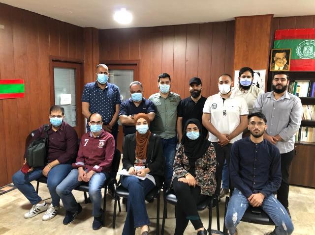 المنظمات الشبابية والطلابية اللبنانية والفلسطينية في صيدا والجوار تحيي انتفاضة الشعب الفلسطيني