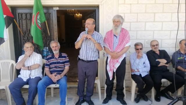 بلدة حوش الرافقة في بعلبك تتضامن مع فلسطين والقدس وغزة في الانتفاضة المباركة