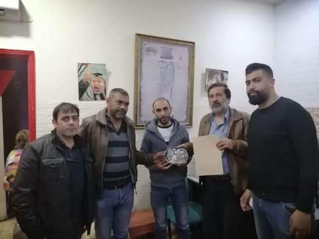 الجبهة الشعبية لتحرير فلسطين تكرم أحلام لاجئ في شاتيلا