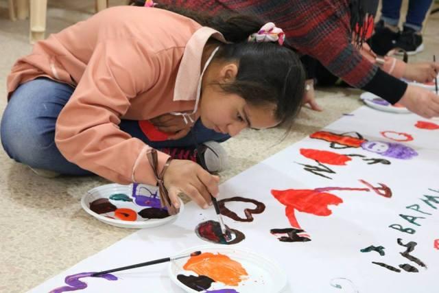 منظمة الشبيبة الفلسطينية تحتفل باليوم العالمي للأطفال