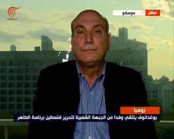 الدكتور ماهر الطّاهر: الروس أكّدوا رفضهم صفقة القرن وضرورة إنهاء الانقسام الفلسطيني