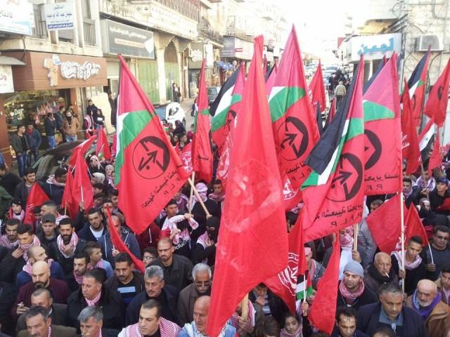 الشعبية تدعو لمنع أي خطواتٍ تصعد من الخلافات الداخلية الفسطينية