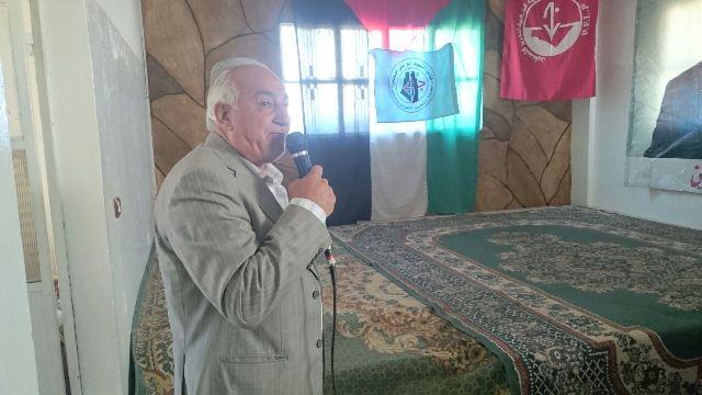 الجبهة الشعبية في مخيم خان الشيح أحيت ذكرى يوم الأرض