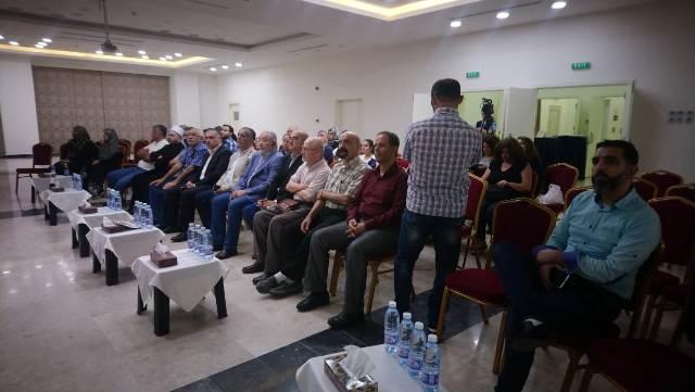 ندوة سياسية لحملة مقاطعة داعمي ( إسرائيل)
