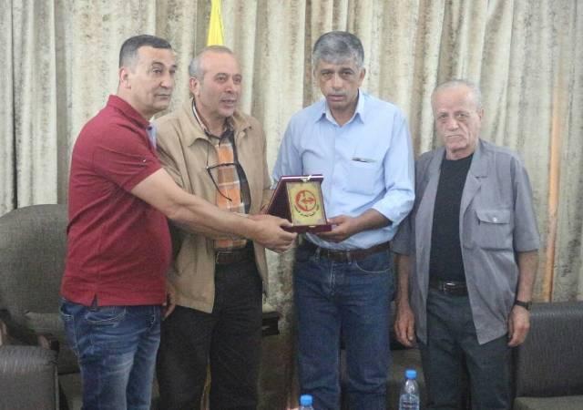 الجبهة الشعبية لتحرير فلسطين في بيروت تزور حزب الله