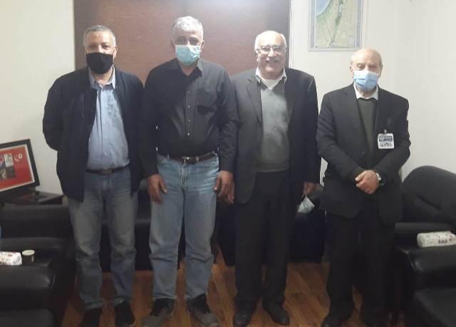 الجبهة الشعبية لتحرير فلسطين تلتقي الجبهة الديمقراطية لتحرير فلسطين