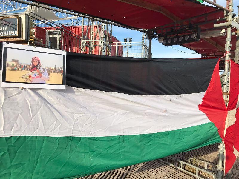اعتصام تضامني مع الشعب الفلسطيني في الأرض المحتلة وغزة بالدانمارك