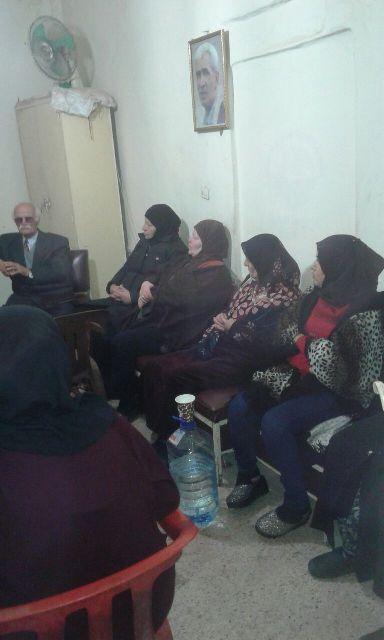 ندوة سياسية في مخيم الجليل لمناسبة مرور مائة سنة على وعد بلفور
