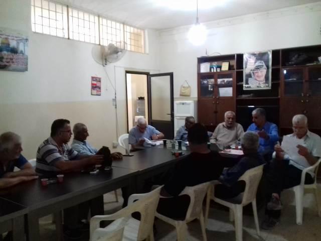 دائرة شؤون اللاجئين بالتعاون مع اللجان الشعبية ل.م.ت.ف تقدم (دجنتير) كهربائي في مخيم البداوي