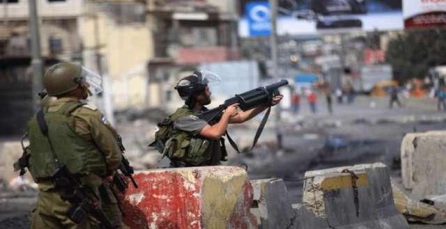 اصابات خلال مواجهات مع قوات الاحتلال في الضفة