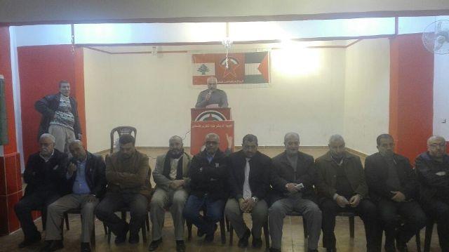 الجبهة الشعبية لتحرير فلسطين تهنئ الجبهة الديمقواطية لتحرير فلسطين في ذكرى انطلاقتها ال 48