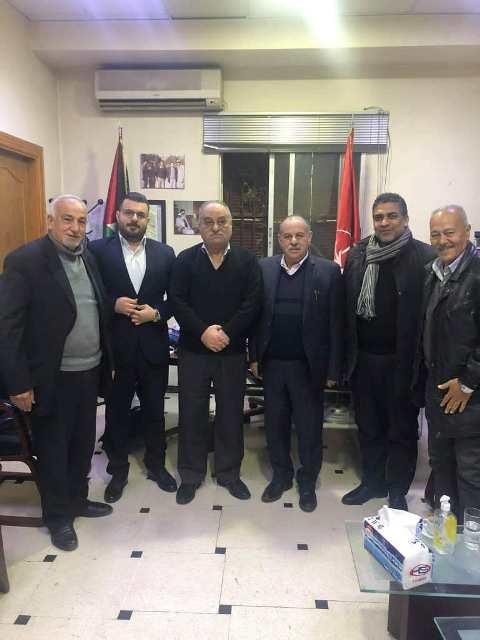 الشعبية في دمشق تستقبل وفدًا قياديًا من حزب الشعب الفلسطيني