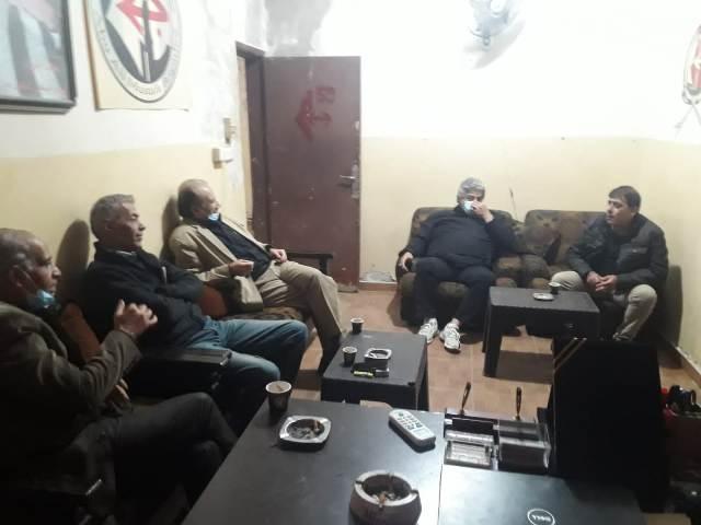 الجبهة الشعبية لتحرير فلسطين تلتقي اللجنة الشعبية الفلسطينية في شاتيلا
