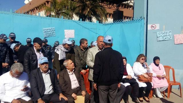 اعتصام جماهيري ومؤتمر صحفي أمام مكتب الأونروا المركزي في بيروت