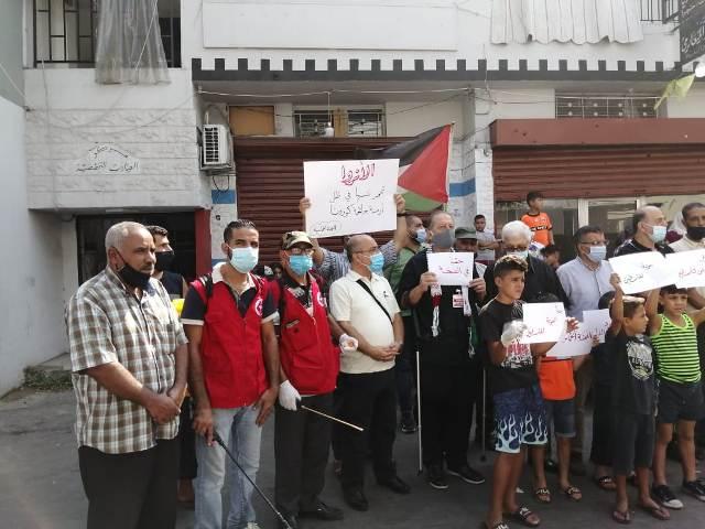 اعتصام جماهيري في مخيم عين الحلوة تحت عنوان