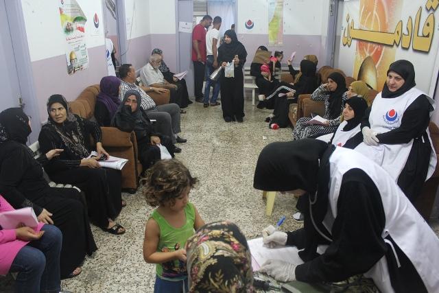 يوم صحي مجاني في مخيم عين الحلوة