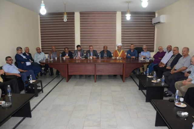 الأحزاب والقوى الوطنية والإسلامية اللبنانية والفصائل الفلسطينية في صورتدين العدوان على سوريا