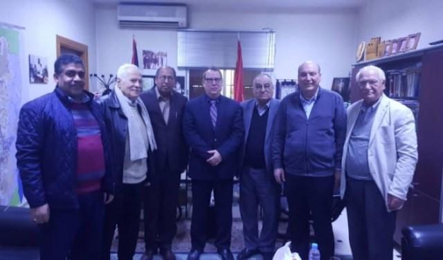 الجبهة الشعبية في دمشق تستقبل السفير الكوبي