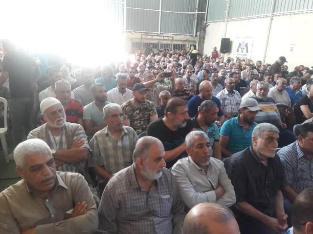 الجبهة الشعبية لتحرير فلسطين وآل مرزوق يؤبنون المرحوم خالد مرزوق أبو محمد