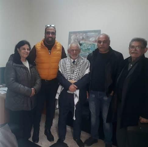 الجبهة الشعبية لتحرير فلسطين في بيروت تلتقي مدير خدمات مخيم مار الياس