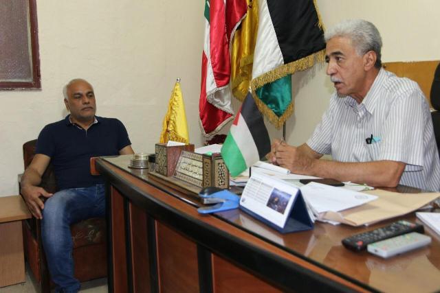 قيادة فتح في بيروت تستقبل وفدًا من قيادة الجبهة الشعبية لتحرير فلسطين في بيروت