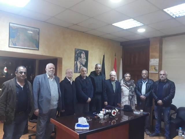 الجبهة الشعبية لتحرير فلسطين تلتقي الحزب السوري القومي الاجتماعي في طرابلس