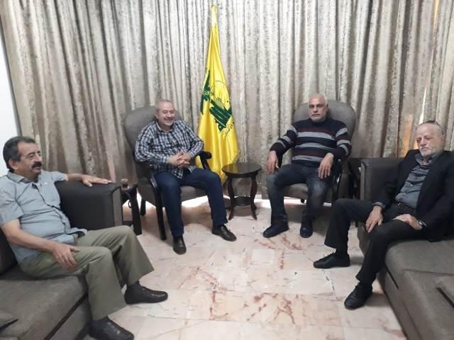 الجبهة الشعبية لتحرير  فلسطين في بيروت تلتقي حزب الله