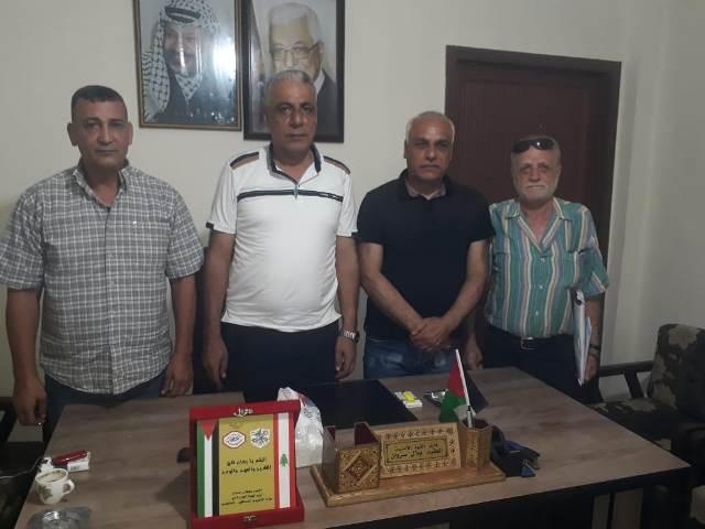 الجبهة الشعبية لتحرير فلسطين  تلتقي قائد الأمن الوطني الفلسطيني في بيروت