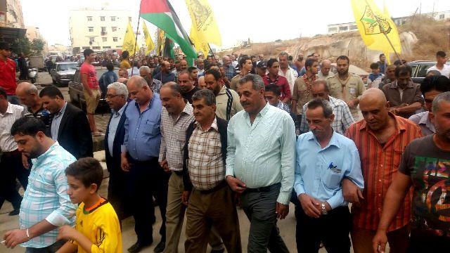 مسيرة في مخيم نهر البارد لمناسبة استشهاد القائد ياسر عرفات