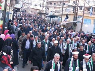 مسيرة لفتح الانتفاضة لمناسبة ذكرى انطلاقتها