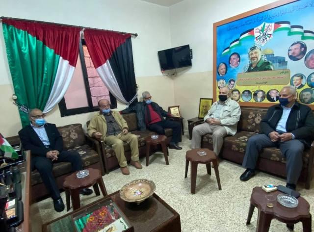 الشعبية تزور حركة فتح في مخيم عين الحلوة
