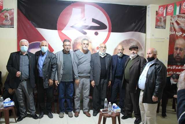 قيادة حركة فتح تعزي الجبهة الشعبية برحيل الشهيد عبدالرحيم ملوح
