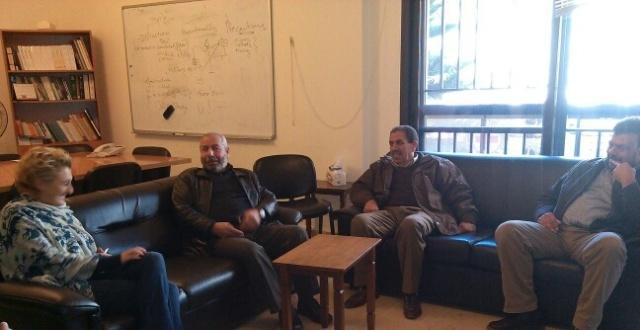فصائل منظمة التحرر تلتقي منسقة عمل الصليب الأحمر في شمال لبنان