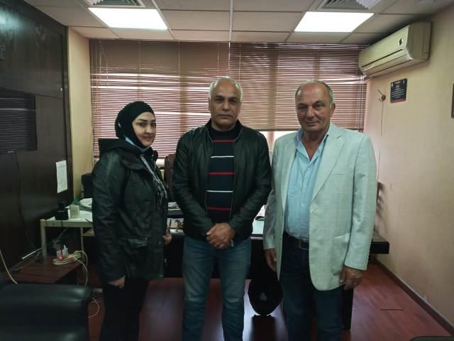 المكتب الإعلامي للجبهة الشعبية لتحرير فلسطين يلتقي مدير إذاعة صوت الشعب