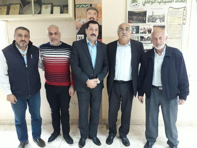 الجبهة الشعبية تلتقي المؤتمر الشعبي اللبناني