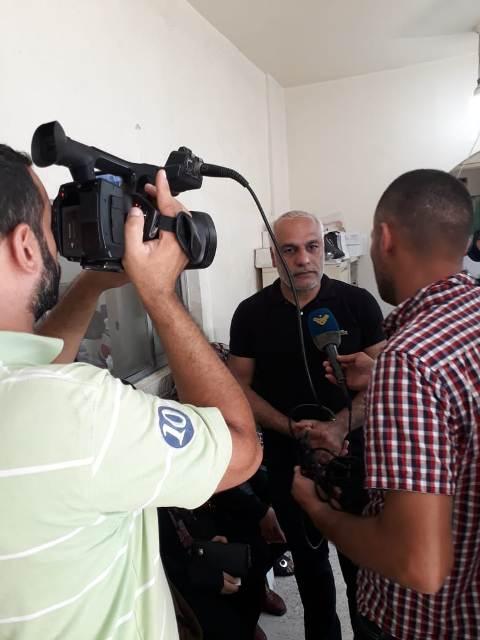يوم صحي مجاني في مخيم البداوي