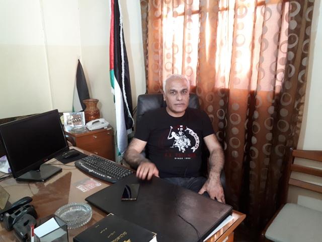 وفد من بوابة اللاجئين الفلسطينيين يزور مكتب الجبهةالشعبية في البداوي
