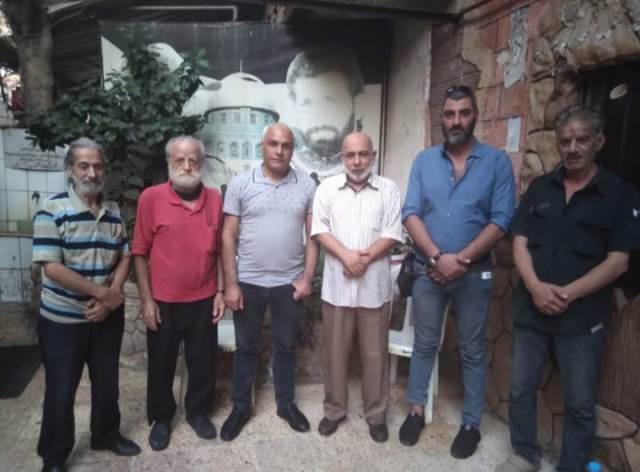 الجبهة الشعبية لتحرير فلسطين تلتقي الجبهة الشعبية لتحرير فلسطين القيادة العامة
