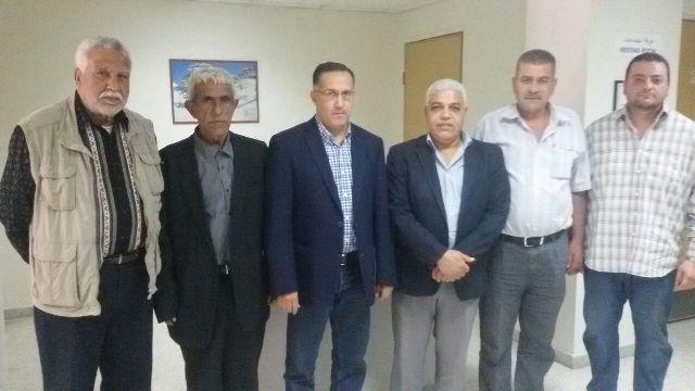 اللجنة الشعبية الفلسطينية في البداوي تلتقي ادارة مستشفى طرابلس الحكومي