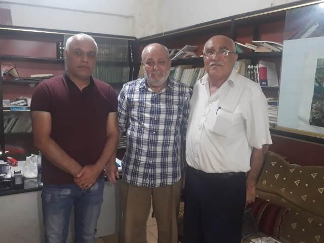 الجبهة الشعبية لتحرير فلسطين تلتقي أمين سر اللجنة الشعبية لمخيم مار الياس