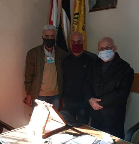 الجبهة الشعبية لتحرير فلسطين تلتقي حركة التحرير الوطني الفلسطيني فتح