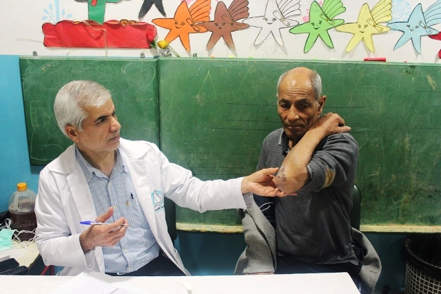 يوم صحي مجاني تخصصي في مخيم البداوي
