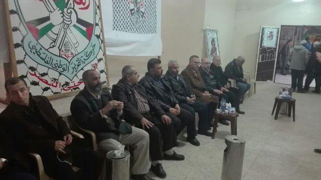 الجبهة الشعبية لتحرير فلسطين تهنئ حركة فتح في الشمال