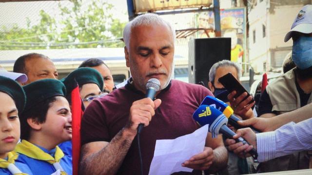 لقاء وطني لبناني  فلسطيني  دعما لانتفاضة القدس في يوم القدس العالمي في مخيم البداوي