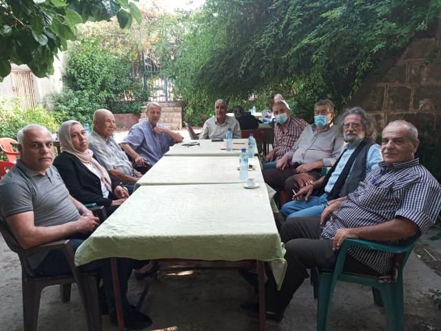 لقاء جمع الجبهة الشعبية وحركة الشعب والحزب السوري القومي الاجتماعي في طرابلس